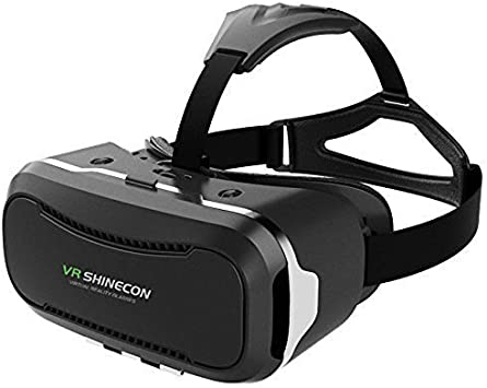 Amazon Com Vr Headset Versiontech 2nd 360 Viewing Immersive 3d Virtual Reality Glasses Goggle For 3d Movies Video Games Compatible With Iphone 8 8plus X 7plus 6splus Galaxy S8 And Other Smartphone Device Electronics