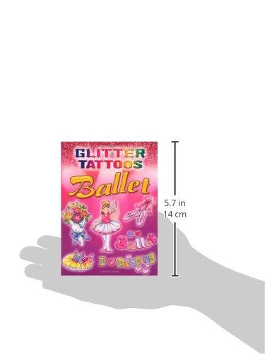 Glitter Tattoos Ballet (Dover Tattoos)