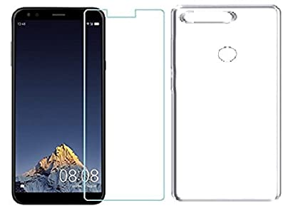 info for dd69e f0065 Colorcase Back Cover Case for Infocus Vision 3 with Tempered Glass Combo  Pack