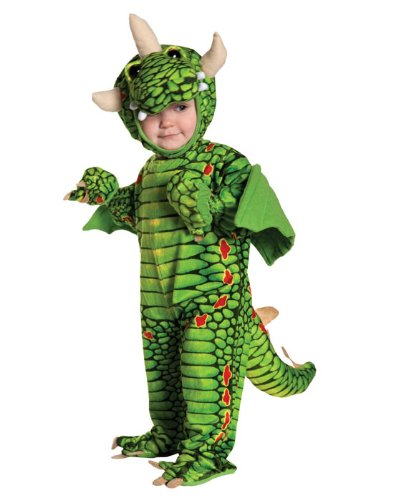 Underwraps Kid's Toddler Adorable Dragon Costume, Large Childrens