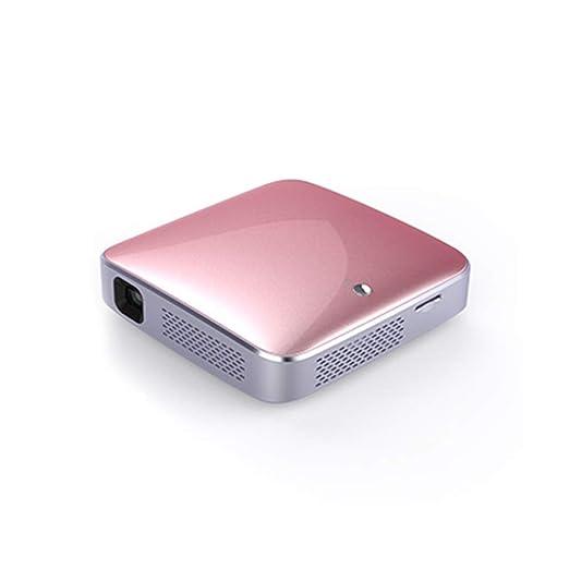 HHCC Mini Proyector Proyector Portátil con Soporte 1080P HD Y ...