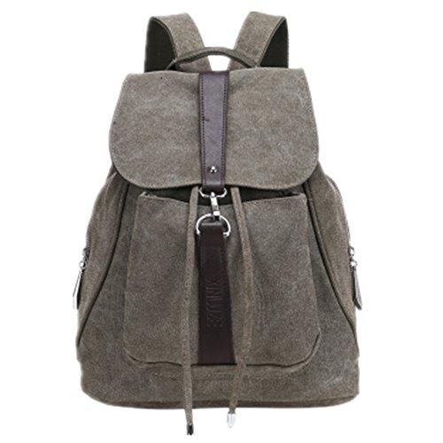 TOMATO-smile - Bolso mochila  de Lona para mujer azul negro Armeegrün