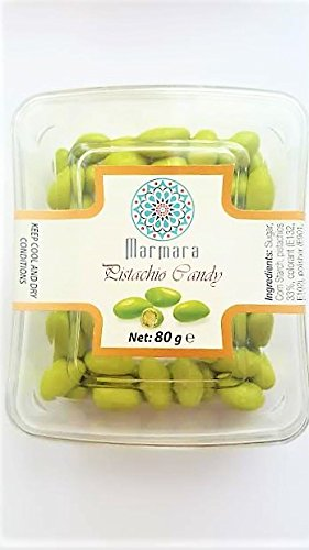 Marmara PISTACHIO CANDY 80 Gm (3 Boxes)