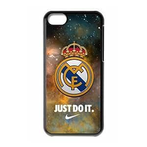 Real Madrid Logo Starry Sky iPhone 5C Unique Design Unique Gift Cover Case