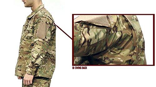 Tru-Spec Mens Shirt, Army Multicam Nyco R/S