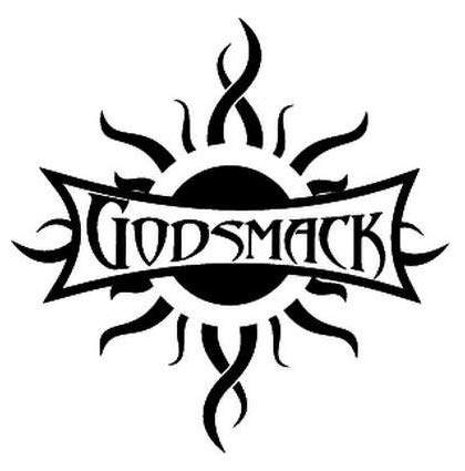 Godsmack Rock Band - Sticker Graphic - Auto, Wall, Laptop, Cell, Truck Sticker for Windows, Cars, Trucks