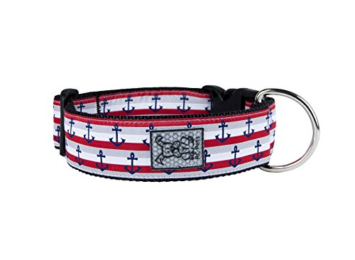 RC Pet Products 1-1/2'' Wide Dog Collar, Nautical, Large by RC Pet Products
