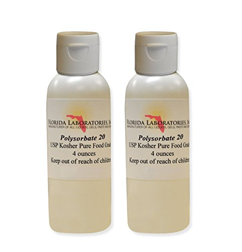 Price comparison product image 2 Bottles 4 oz Polysorbate 20 FOOD GRADE KOSHER