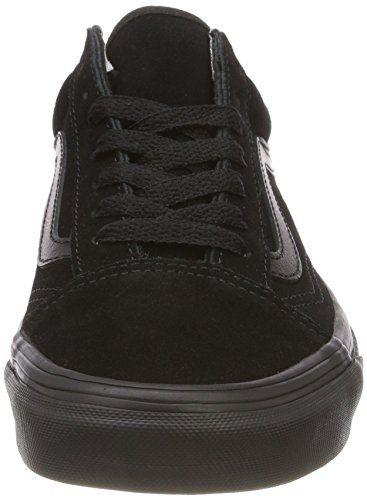 Nri Black Mens Vans Skool Black Suede Suede Old Trainers Black Black HUpvSwUq