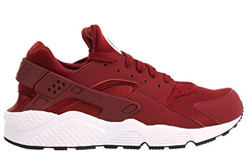 Nike Schuhe Air Huarache team red-team red-white-black (318429-606)