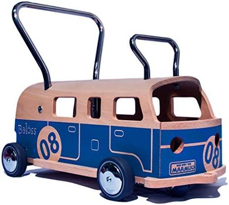 3 en 1 Trotteur porteur Minibus Balòss