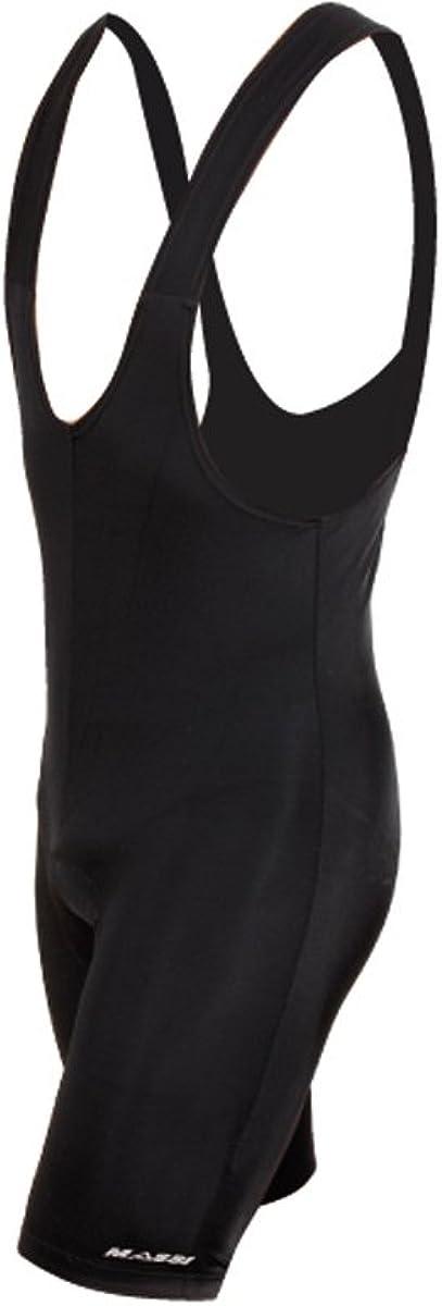 Talla L Massi Sport Color Negro Culotte con Tirantes para Hombre