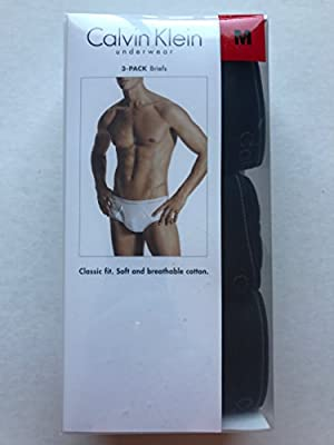 Calvin Klein Men's Three-Pack Classic Briefs
