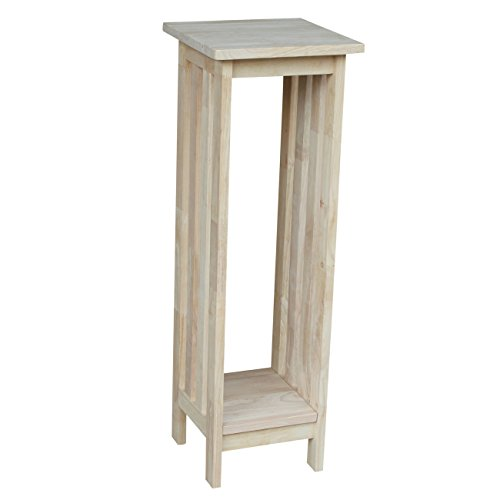 International Concepts 3069 36-Inch Mission Plant Stand, (Unfinished Wood Plant Stand)