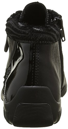 Remonte R3465, Zapatillas Altas para Mujer Negro (Schwarz/nero/schwarz/Schwarz / 03)