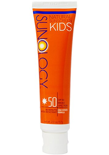 (Sunology Kid's & Baby Safe Mineral Sunscreen SPF 50 Broad Spectrum Lotion, 2 Ounce Tube)