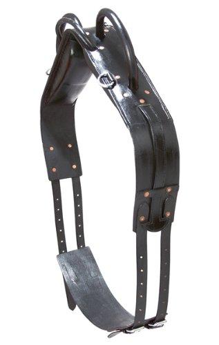 Brown pony brown pony Vaulting Belt Leather Black Pony