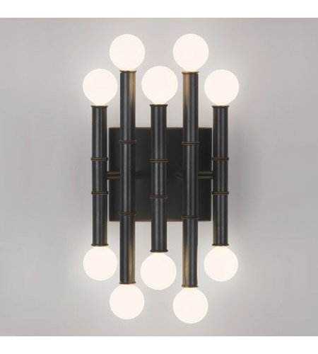 Robert Abbey Z686 Sconces with Shades, Deep Patina Bronze Finish ()