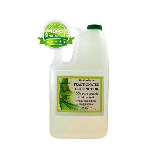 Organic-Pure-Fractionated-Coconut-Oil-7-Lb-One-Gallon