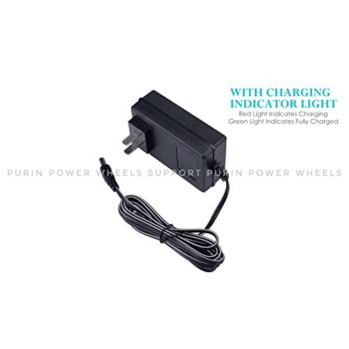 0414d801 12V Universal Charger Adapter for Kids Power Wheels RC Car Children ...