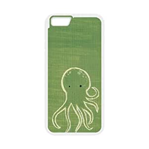 octopus iPhone 6 4.7 Inch Cell Phone Case White DA03-216005