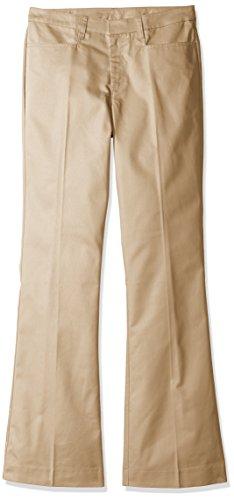 Classroom Uniforms Tall Size Juniors Low Rise Pant, Khaki, 7/8