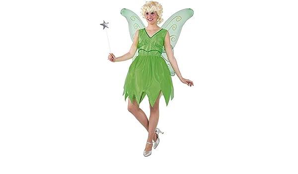 DISBACANAL Disfraz Campanilla Mujer - -, S: Amazon.es: Juguetes y ...