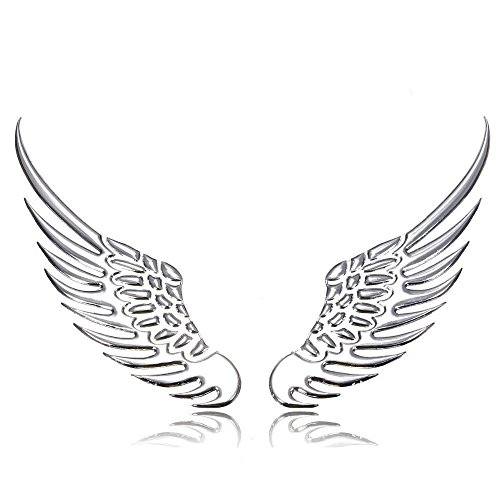 Compare Price Angel Wings Car Window Decals On