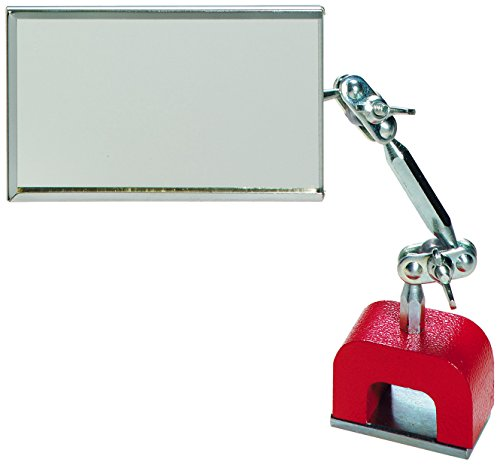 General Tools MB560 3-1/2-Inch x 2-Inch Inspection Mirror with Magnetic Base