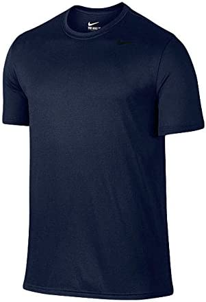 メンズ ドライフィット レジェンド 半袖 Tシャツ 718834 1604 紳士 男性 451(Oネイビー×ブラック) M