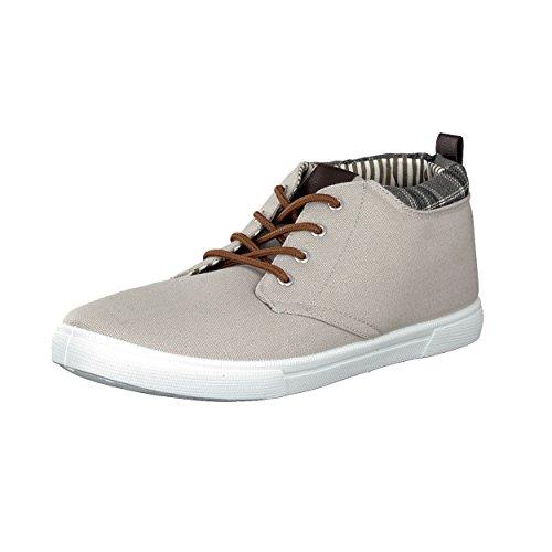 brandsseller - Zapatos de cordones de Material Sintético para hombre, color beige, talla 41 EU