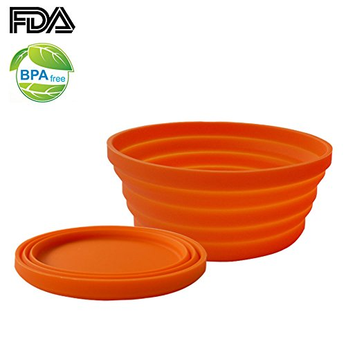 Ecoart Silicone Expandable Collapsible Camping product image