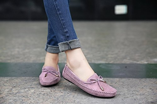 Evedaily - Zapatillas Mujer morado