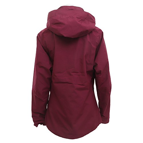 Y Montets Con Rojo Gtxj Ld Mujer Millet Red Chaqueta velvet Cremallera Capucha qY57nA6