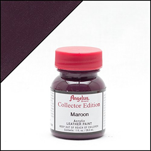 Angelus Collector Leather Paint Maroon