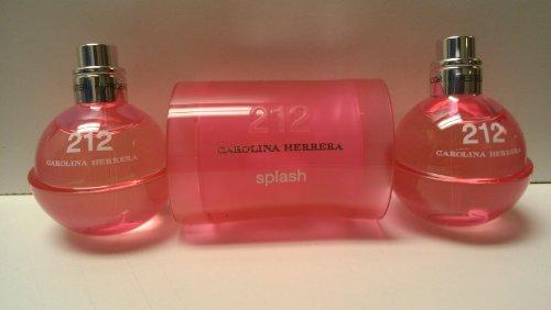 2 Ounce 212 Splash - 212 Splash for Women By Carolina Herrera Eau De Toilette Spray 60ml / 2fl. Oz. (2008 Edition)