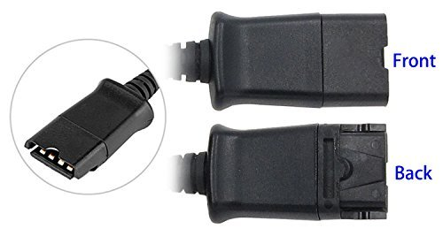 Headset Qd Cable Y Adapter Trainer Cable For Training