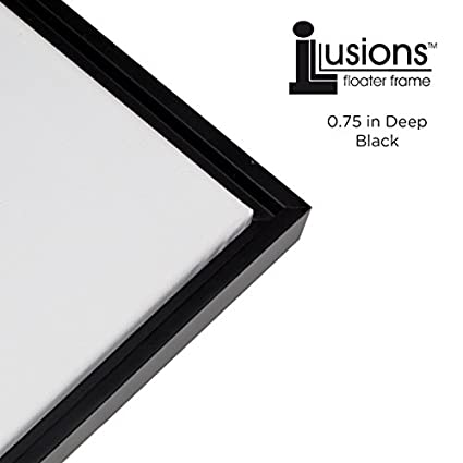 Amazon.com - Creative Mark Illusions Floater Frame for 3/4 Inch ...