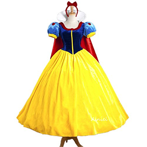 [Ainiel Classic Deluxe Princess Costume Dress for Adults Kids(Adult S)] (S Costume Ideas For Women)