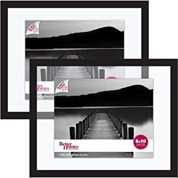 Better Homes and Gardens Float Picture Frame, Black, Set of 2 from Better Homes & Gardens