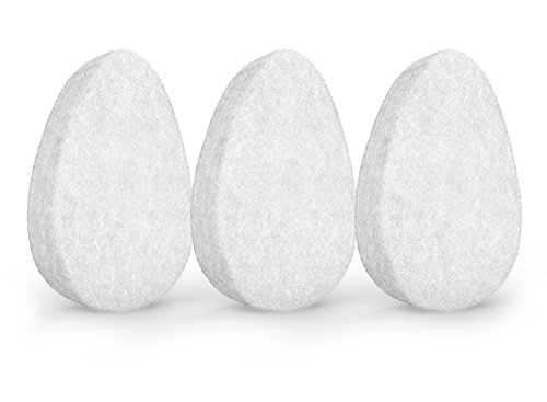 Facial Exfoliating Sponge. Skin Exfoliation Tool for Face and Body. Gentle, Deep Cleansing, Improves Texture, Good for All Skin Types, Hypoallergenic. Set of 3 Sponges, By Christina Moss Naturals.