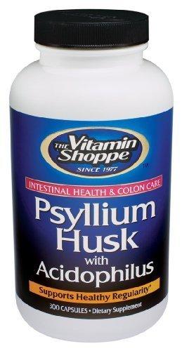 the Vitamin Shoppe Psyllium Husks 300 Capsules by Vitamin Shoppe