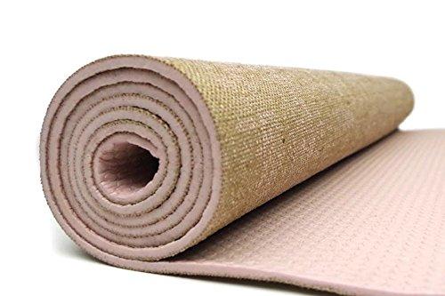 Amazon.com : YoHarmony Eco Friendly Jute Yoga Mat Pilates ...