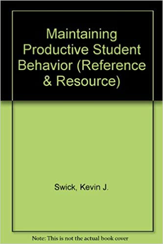 maintaining productive student behavior reference resource
