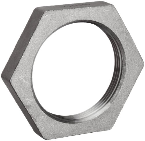 Stainless Steel 304 Cast Pipe Fitting, Hex Locknut, Class 150, 2-1/2