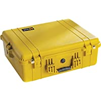 Pelican 1600 Camera Case With Foam (Yellow)