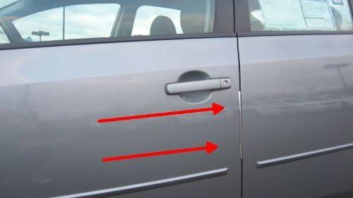 312 Motoring fits 2002-2007 Acura RL Chrome Door Edge Trim MOLDING Protectors 4 Qty of 8 2003 2004 2005 2006 02 03 04 05 06 07