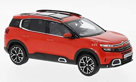 Amazon Citroen C5 Aircross Red 2018 Model Car Norev 143