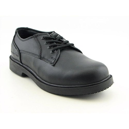 Men's Oxford Resistant Genuine Black Grip Slip Footwear Work SAEwZqBw