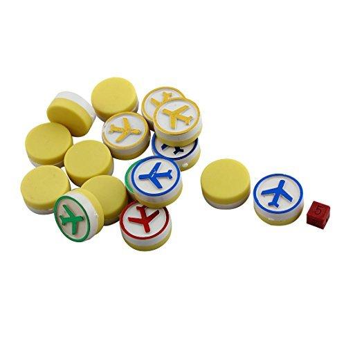 50f3b45f3f44d eDealMax Partido de la Familia de plástico juego de Aviones Vuelo del  aeroplano Alfombra juego de